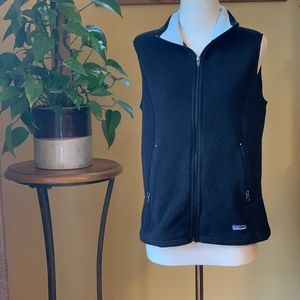 Patagonia Black Synchilla Fleece Vest